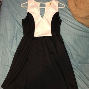 Black and white dress from Francesca's